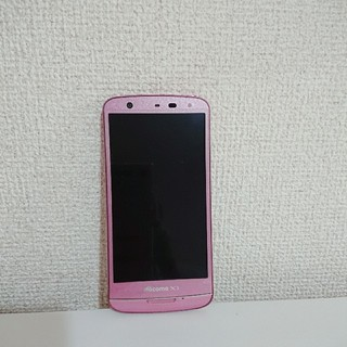エヌイーシー(NEC)のN-06E ピンク(スマートフォン本体)