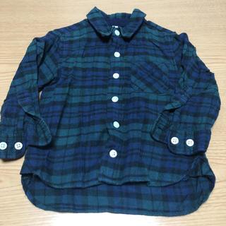 ムジルシリョウヒン(MUJI (無印良品))のMUJI チェックシャツ 90cm(ブラウス)