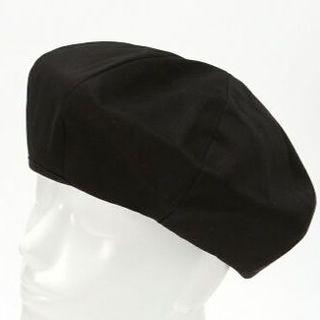 ウィゴー(WEGO)のwoolrich様専用・WEGO パネルベレー帽☆ブラック 黒 ユニセックス(ハンチング/ベレー帽)