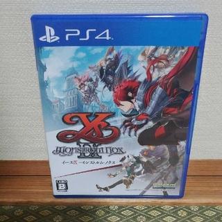 プレイステーション4(PlayStation4)のタツ4256さま専用 PS4 イースVⅨ (9) -MONSTRUM NOX-(家庭用ゲームソフト)