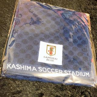 サッカー日本代表 タオル マフラー 未開封 新品 (記念品/関連グッズ)