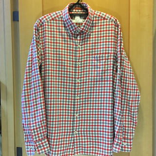 ニジュウサンク(23区)の23区HOMME  チェックのネルシャツ  サイズ48(L)(シャツ)