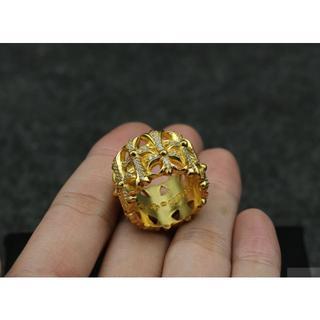 クロムハーツ(Chrome Hearts)のK165クロムハーツリングダイヤ(リング(指輪))