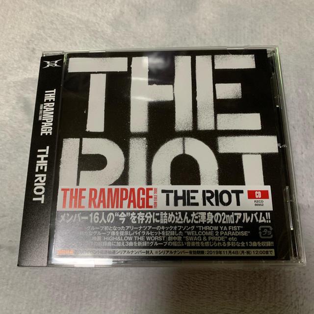 THE RAMPAGE(ザランページ)のTHE RAMPAGE アルバム エンタメ/ホビーのタレントグッズ(ミュージシャン)の商品写真