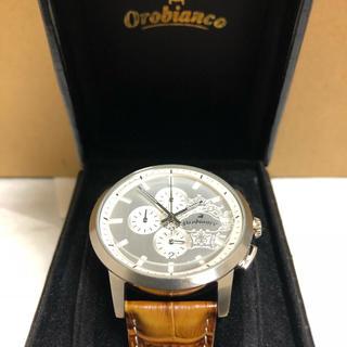 オロビアンコ(Orobianco)の【美品】Orobianco 腕時計 (made in italy)最終減額済(腕時計(デジタル))