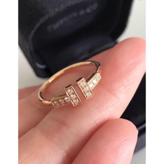 ティファニー(Tiffany & Co.)のティファニーTワイヤーリング   10(リング(指輪))