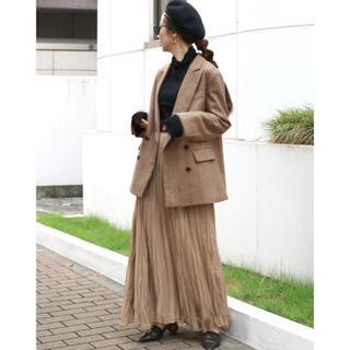 アングリッド(Ungrid)のUngrid ランダムプリーツマキシスカート 新品タグ付き(ロングスカート)