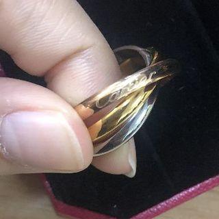 カルティエ(Cartier)のカルティエトリニティリング(リング(指輪))