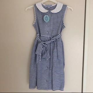 マザウェイズ(motherways)の新品♡マザウェイズ 女の子 120 ワンピース プチパレ ドレス(ワンピース)