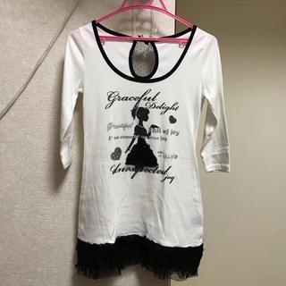 セシルマクビー(CECIL McBEE)のセシル Tシャツ(Tシャツ(長袖/七分))