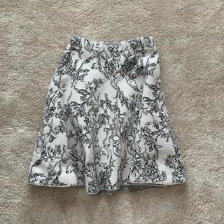 ルシェルブルー(LE CIEL BLEU)のルシェブルー スカート(ひざ丈スカート)