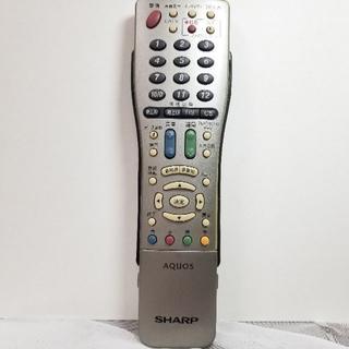 SHARP - 【ジャンク】シャープ AQUOS テレビリモコン GA567WJSA