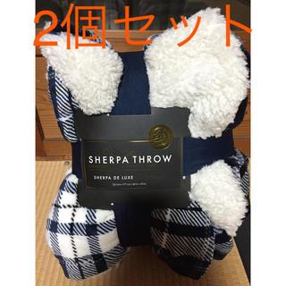 コストコ(コストコ)の新品未使用♡コストコ♡シャーパブランケット♡毛布♡2個セット(毛布)