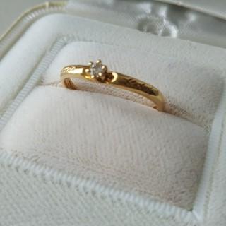 K18 王冠デザインリング(リング(指輪))