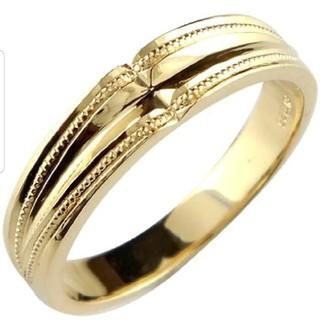 エスオーエスエフピー(S.O.S fp)のメンズ18Kイエローゴールドリング15号(リング(指輪))