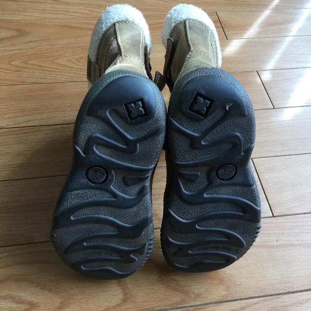 Timberland(ティンバーランド)の値下げ☆Timberland レザーブーツ 15cm キッズ/ベビー/マタニティのキッズ靴/シューズ(15cm~)(ブーツ)の商品写真