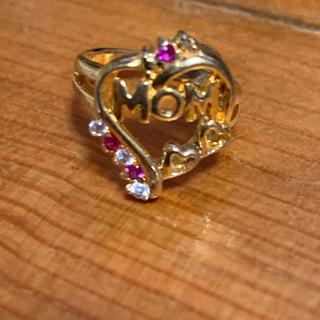 MOMリング4号7月誕生石未使用silver925(リング(指輪))