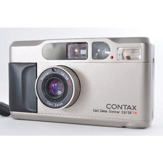 キョウセラ(京セラ)のContax T2 コンタックスT2 現状品 撮影可能  最終価格(フィルムカメラ)
