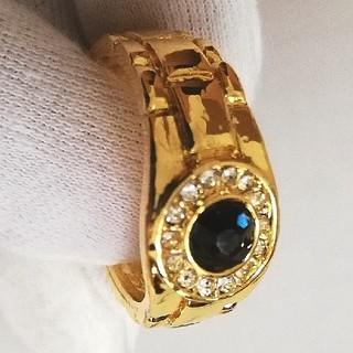 指輪 リング ブルーサファイア メンズ レディース 金 パワーストーン(リング(指輪))