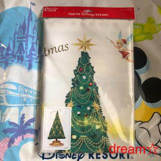 ディズニー(Disney)の新作♡ クリスマス タペストリー 2019 ディズニーリゾート(絵画/タペストリー)