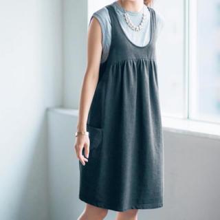 ベルメゾン - 新品 マタニティジャンパースカート ワンピース Lサイズ