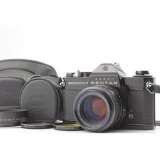 PENTAX - 清掃整備済 ペンタックスSP 人気のブラック 標準レンズセット