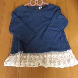 サマンサモスモス(SM2)のSM2のレース付きトップス(Tシャツ/カットソー)