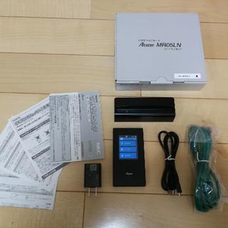 エヌイーシー(NEC)の【利用約3か月】Aterm MR05LN 3B クレードルセット(PC周辺機器)