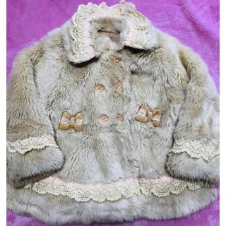 スーリー(Souris)のsouris ファーコート 80センチ(ジャケット/コート)