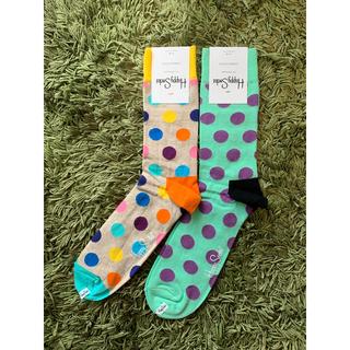 ビームス(BEAMS)のハッピーソックス happy socks 2足 定価3,080円(ソックス)