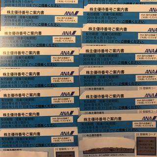 エーエヌエー(ゼンニッポンクウユ)(ANA(全日本空輸))のANA株主優待券15枚 値下げ 2020年5月31日まで(その他)