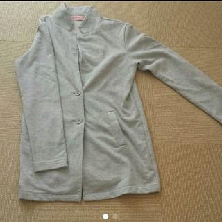 シマムラ(しまむら)のジャケット カーディガン コート グレー(コート)