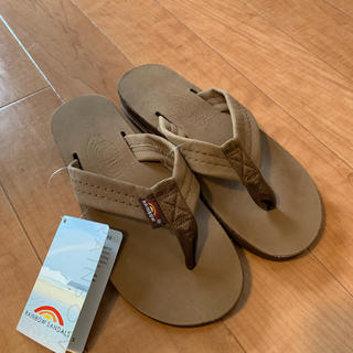 JOURNAL STANDARD - 新品 rainbow sandals ダブルレイヤーレザーサンダル