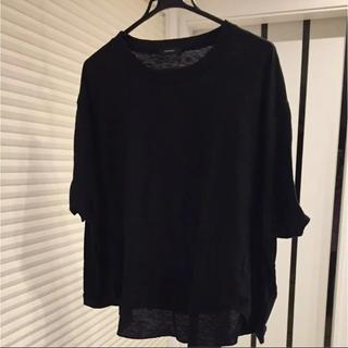 レプシィム(LEPSIM)の※バックストリングVチュニック7S(Tシャツ(半袖/袖なし))