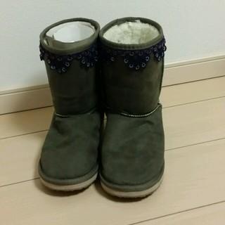ムジルシリョウヒン(MUJI (無印良品))のSEUmama様専用無印ムートンブーツ(ブーツ)