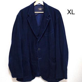 ダブルアールエル(RRL)のRRL インディゴ コーデュロイ テーラージャケット US Men's XL(テーラードジャケット)