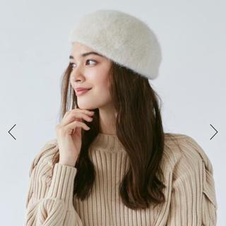 カオリノモリ(カオリノモリ)のシャポードオー アンゴラベレー帽 (ハンチング/ベレー帽)