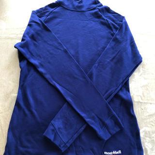 モンベル(mont bell)のハイネックTシャツ(Tシャツ(長袖/七分))