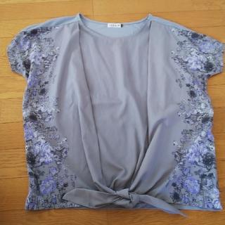レプシィム(LEPSIM)のLEPSIM 花柄Tシャツ フリーサイズ(Tシャツ(半袖/袖なし))