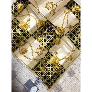 クリスチャンディオール(Christian Dior)のクリスチャンディオール Dior スカーフ 新品未使用(バンダナ/スカーフ)