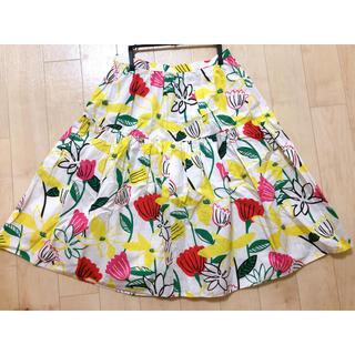 チェスティ(Chesty)の花柄 スカート(ひざ丈スカート)