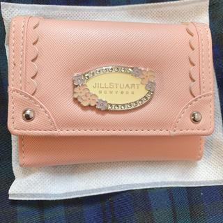 ジルスチュアートニューヨーク(JILLSTUART NEWYORK)のJILLSTUART NEWYORK チェーン付き折り財布(財布)