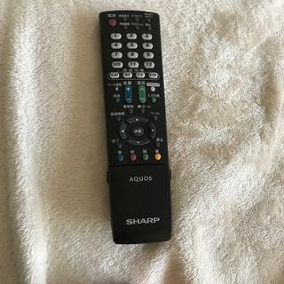 シャープ(SHARP)のAQUOS テレビリモコン シャープ GA952WJSA(その他)