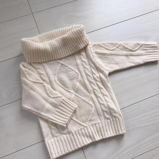 フタフタ(futafuta)の新品未使用 ニット 80(ニット/セーター)