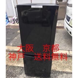 ミツビシ(三菱)の三菱ノンフロン冷凍冷蔵庫 MR-P15W-B   146L   2012年製 (冷蔵庫)