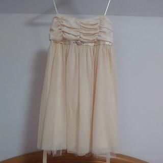 ハニーミーハニー(Honey mi Honey)のチュールキャミドレス結婚式ワンピース(ミニワンピース)