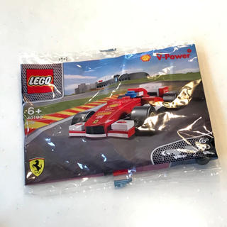 フェラーリ(Ferrari)のフェラーリF1 LEGO SHELL(シェル・レゴ・未使用)Ferrari送料込(模型/プラモデル)