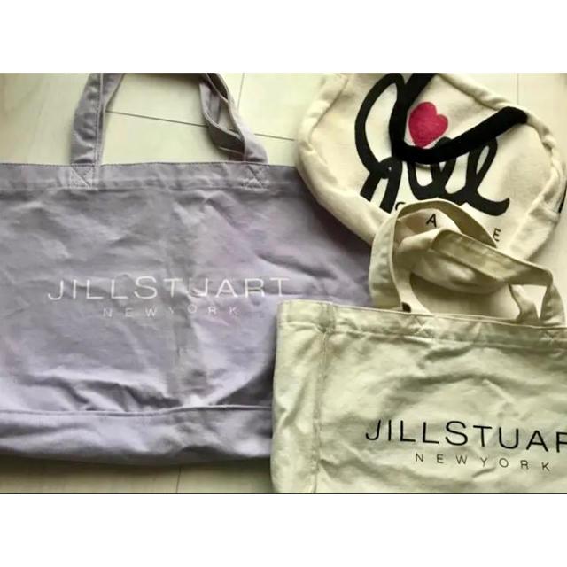 JILLSTUART NEWYORK(ジルスチュアートニューヨーク)のジルスチュアート トートバッグ 3点セット レディースのバッグ(トートバッグ)の商品写真