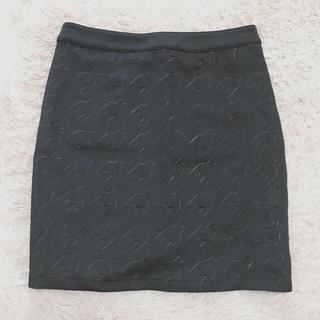 ジェイダ(GYDA)のGYDA タイトスカート ブラック(ミニスカート)
