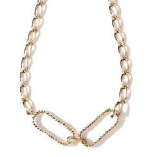 ビームス(BEAMS)のADER bijoux CUTSTEEL chain chorker ゴールド(ネックレス)